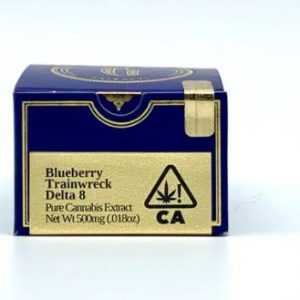 Blueberry Trainwreck Delta 8 THC Concentrate